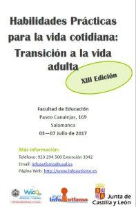 XIII Edición Curso de Verano Habilidades Prácticas para la Vida Cotidiana